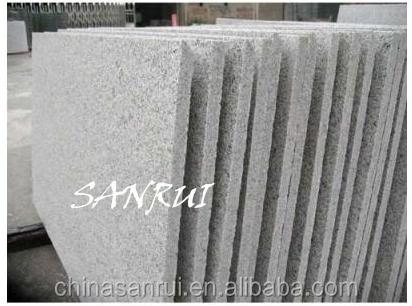 losas de granito para la encimera de piedra natural de color blanco o baldosas y fuera
