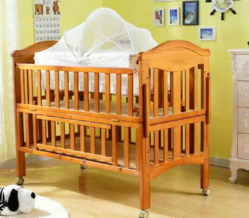 Bon 2018 New Type Wood Single Cot Bed With Storage Drawer Portable Baby Crib  With Mosquito Net   Buy New Single Cot Bed,Portable Baby Crib With Mosquito  ...