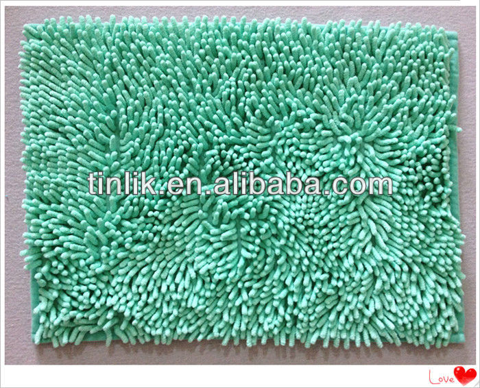 rest room microfiber chenille ground mat
