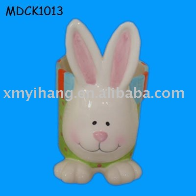 New online new design ceramic bunny Easter Gift