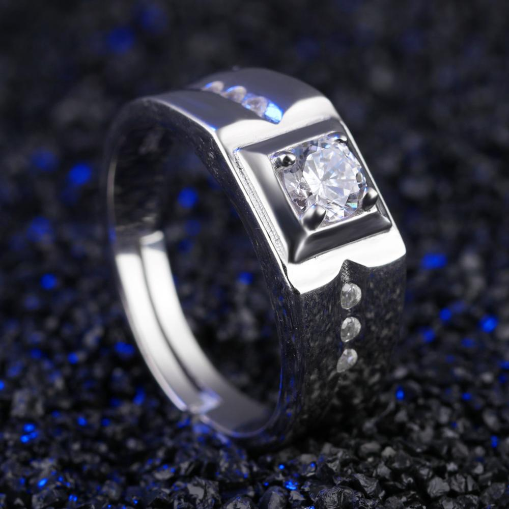 Best Products Italian Man Made Gents Diamond Ring Design