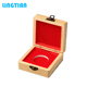Cheap Custom Wooden Gold Commemorative Coin Display Box