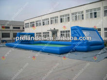 Giant inflatable soap football pitch/ inflatable football field
