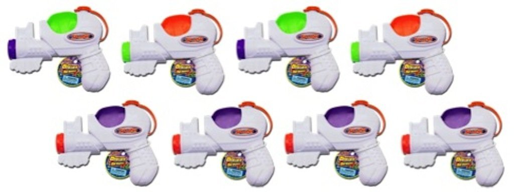Ja-Ru Splash Power Shot Pump Water Gun Blast Party Favor Bundle Pack
