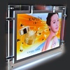 Future brand high quality Wedding decorative display acrylic crystal photo frame led lights