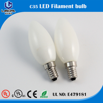 Led Dimmable Led 6w Ed Candelabra C35 6-60w Frosted Ledcandle ...