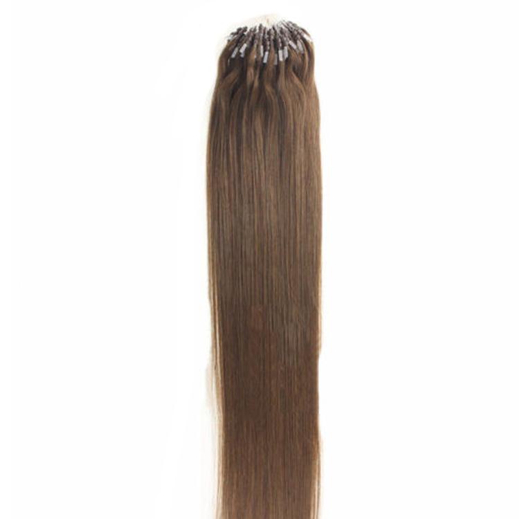 Alibaba Wholesale Remy Hight Grade Hair 1g Mikroringschleifen-Haarverlängerungen