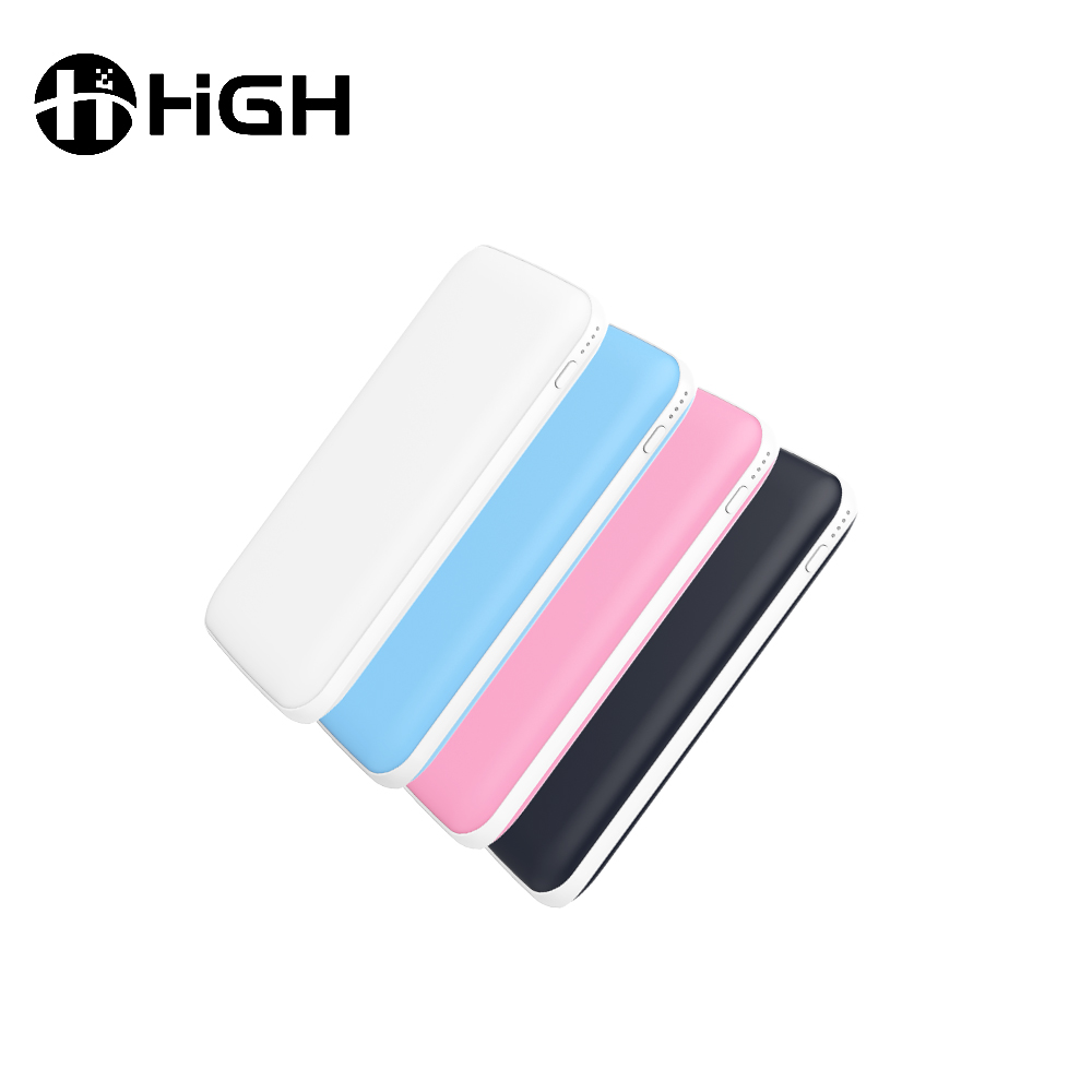 China Manufacturer lightweight mini pocket for iphone power bank built in mobile phone battery bank
