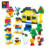 educational toy abs plastic type building blocks construction toy