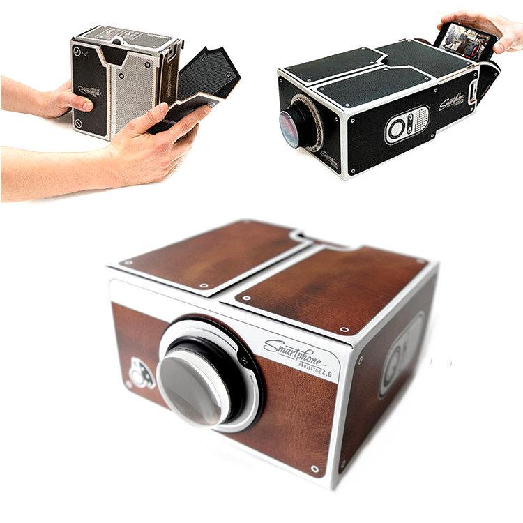 Easy Assemble Diy Metal Garage Or Shop: [Sashine]Cardboard Mini Smartphone Projector Easy Assemble