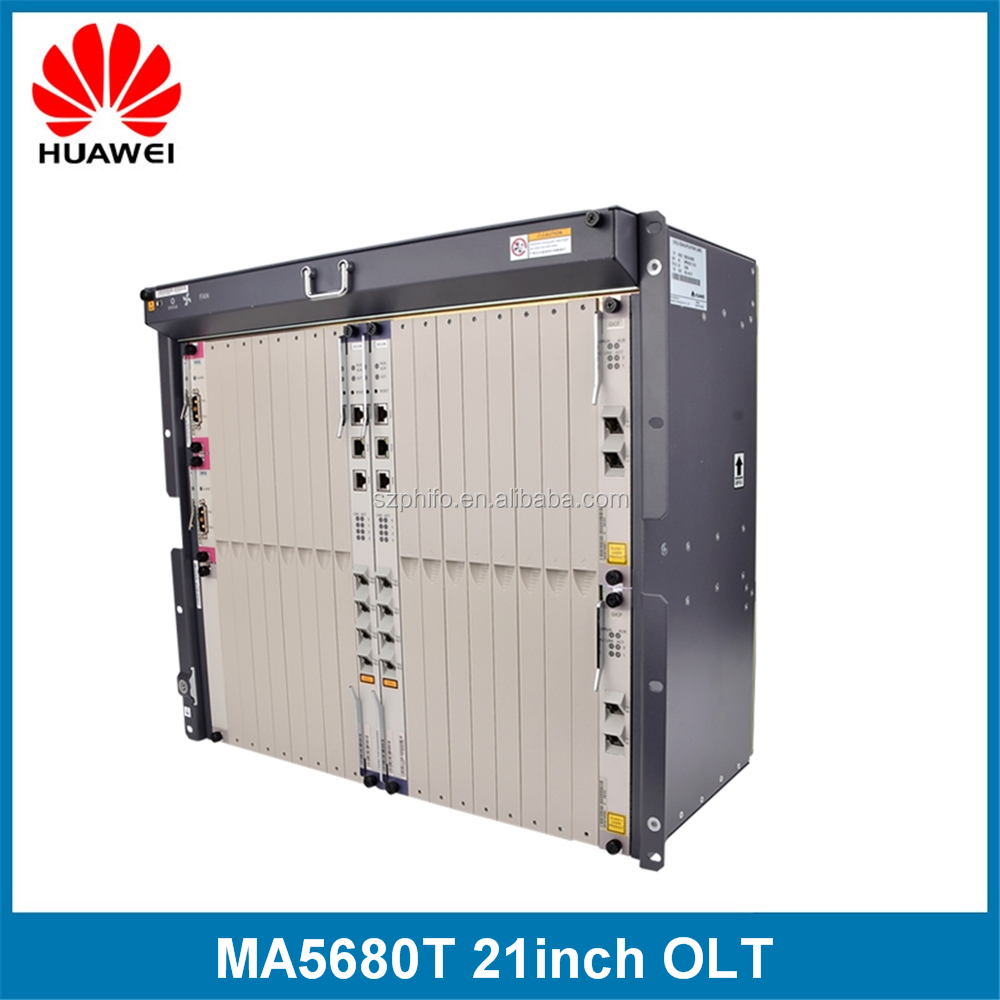 Chassis+Fan+2*SCUN+2*PRTE+X2CS+GICF Huawei OLT MA5680T fiber optic gepon olt price