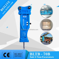 4 to7 Ton excavator hydraulic rock breaker/hydraulic rock hammer