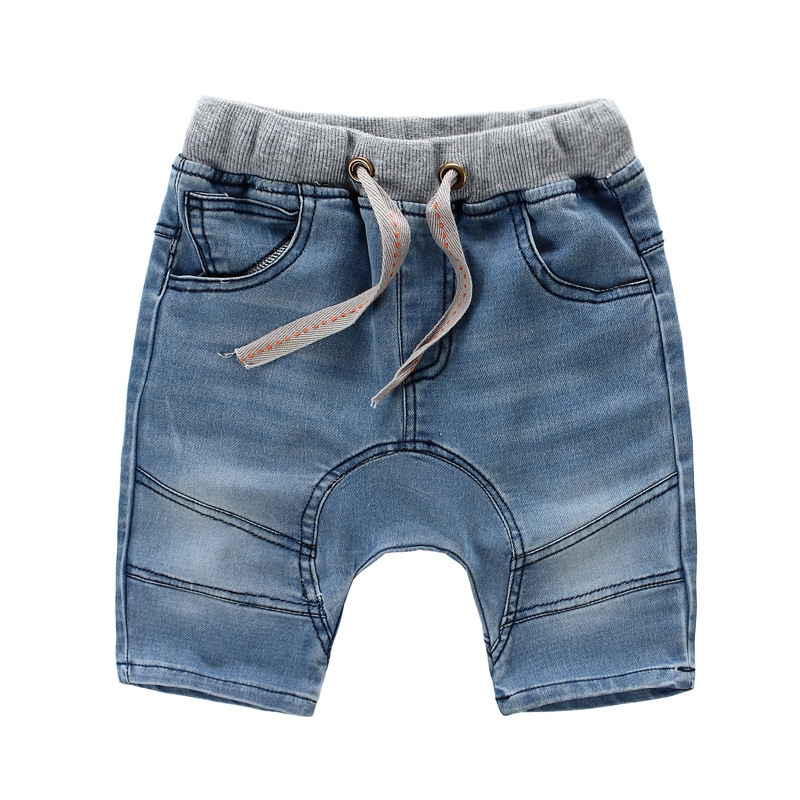 3aaeed75c8e7 Buy 2015 New Brand Baby Boys Summer Shorts Elastic Waist Boys Jeans ...