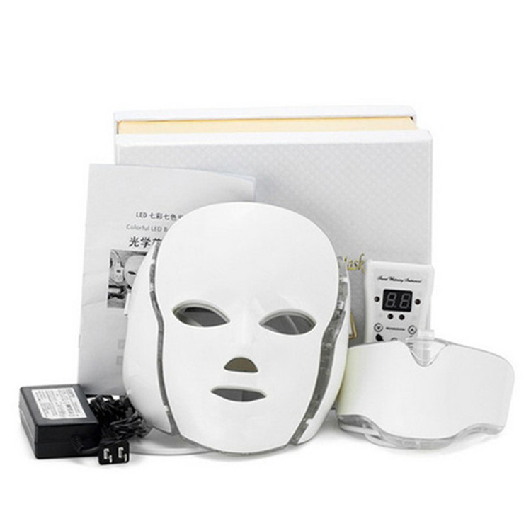 7 Colors Led Mask PDT Machine For Skin Care