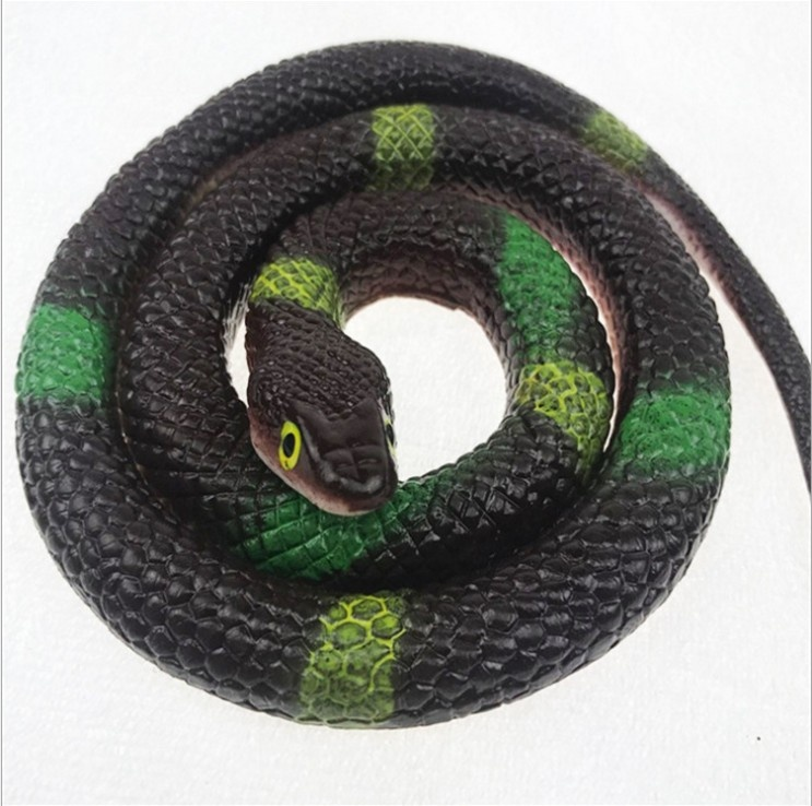 TPR surprise simulation cute snake cobra animal toys for the Halloween