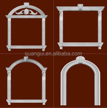 hot sale waterproof exterior decorative grc window frame for villa - Window Frames For Sale