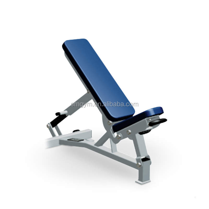 Wholesale Hammer series EM949 Adjustable Pro Bench gym fitness equipment