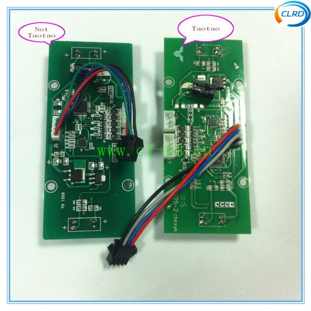 2 wheel Balance Scooter Hover Board repair parts Circuit board Balance Control Sensor Power Button Full set