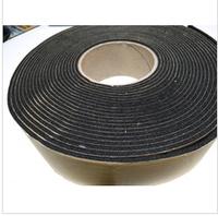 Good flexibility seal rubber foam insulation adhesive tape