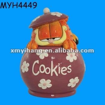 Garfield Cookie Jar Fascinating Indah Dekoratif Keramik Garfield Cookie Jar Buy Product On Alibaba