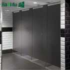 Phenolic resin hpl commercial toilet cubicle partition