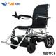 2018 new folding handicapped power electric wheelchair with lithium battery for disabled