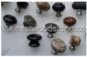 Elegant Natural Stone Cabinet Knobs - Buy Red Cabinet Knobs,Yellow ...