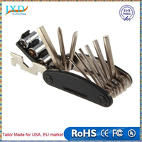 16 in 1 Bike Multi-function Cycling Steel Tools bicycle Repair Kits