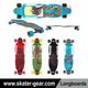 SKATERGEAR 38.25*10 inch custom most expensive complete/blank longboard