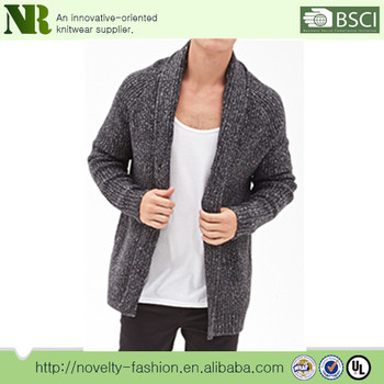 f1302ef7aa72f9 Men s Winter Chunky Knitting Cardigan Sweater - Buy Men Heavy Knit ...