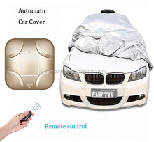 풀 몸 car cover 개폐식 자동 car cover 일 폴 리 에틸렌 그늘 remote control electrical car cover