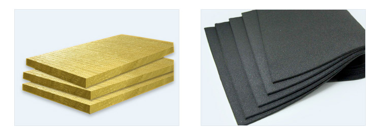 rock wool pipe lagging section insulation prices