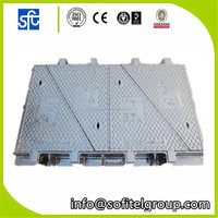 OEM Triangular Grey Cast Iron/ductile iron Manhole Cover Price