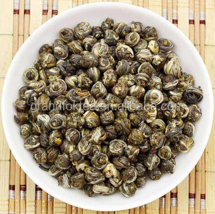 Fujian Jasmine Dragon Pearl ball superfine jasmine tea health benefit slimming tea - 4uTea   4uTea.com