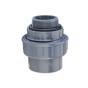 Female threaded grey unique plastic PVC UPVC water union