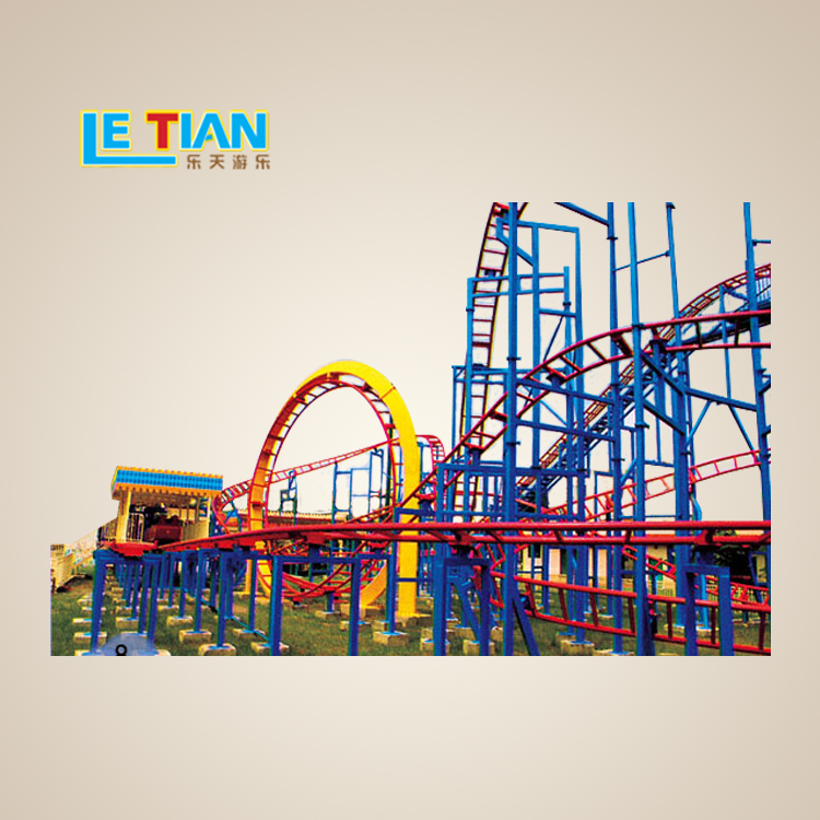 Large Water and Land Roller Coaster Factory Price for sale
