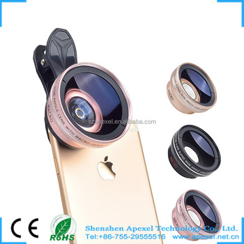 2017 newest professional mobile lens 50mm new clip hd 0 45x wide