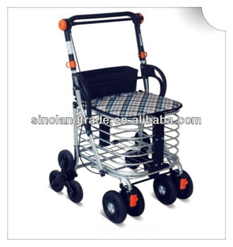 Hot sale personal shopping trolleys for the elderly buy for Motorized carts for seniors