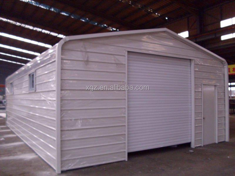 Steel Building Prefabricated Sheds/factory Industrial Shed Metal Frame Shed