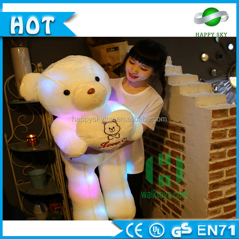 Guangzhou Wholesale Led Light Up Teddy Bear Plush Toy,Cheap Price ...