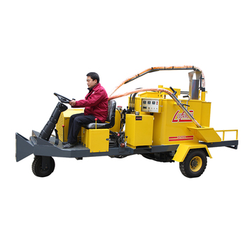 best selling 500L filler and sealer cement pavement road crack repair branded road cleaning machine