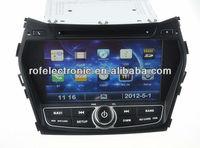 Car DVD player GPS with Radio Bluetooth head unit for Hyundai Santa Fe 2013 IX45