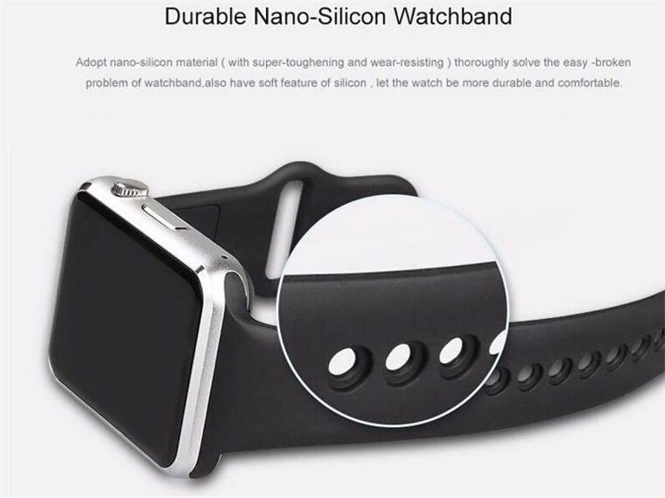 Wholesale smart wrist watch phone A1 sim card smartwatch for android and ios