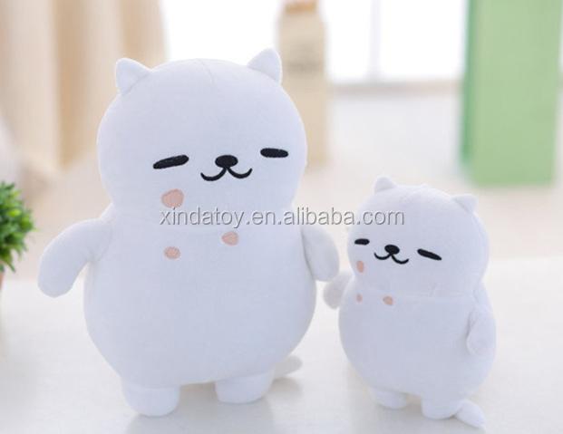 Super Cute Kartun Atsume Neko Putih Cat Mainan Cuddle Bantal Boneka Boneka  Mainan Mewah 18 1694279784