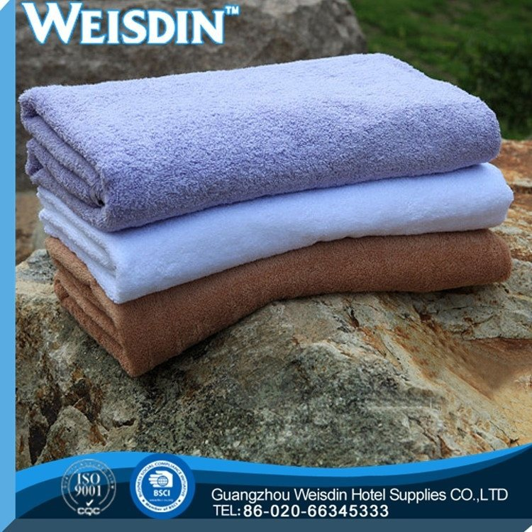 stripe wholesale 100% cotton absorbent soft towel for bathing or was