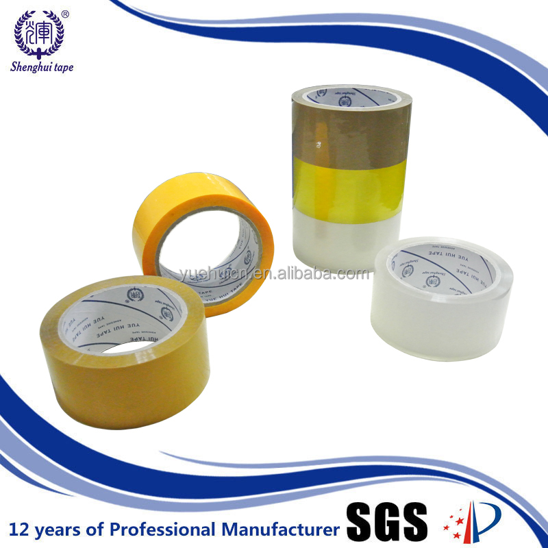 European quality bulk sale 36 rolls customised bopp self adhesive tape sealing
