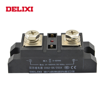 DELIXI CDG2 China Industrial 24VAC to 480VAC Professional Electrical Relay 3-32VDC Latching Relay