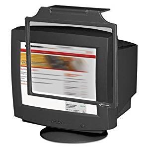 "Antistatic Vinyl Flat-Screen CRT Monitor Dust Cover for 19-21/"" CRT Monitor"