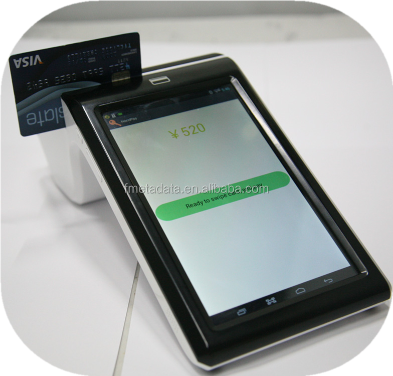 MasterCard and VISA NFC/RFID Card Reader Android POS Terminal