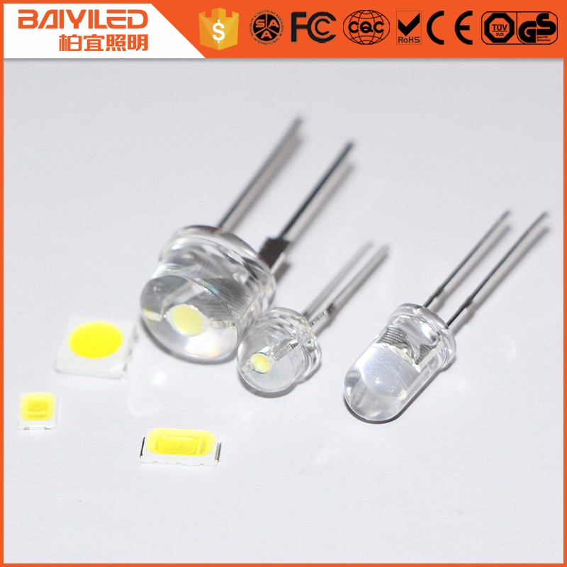 smallest micro power super bright 1.5v 5mm 3mm rgb white mini led diode datasheet holder price